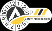 ASP SAFETY MANAGEMENT Logo